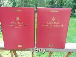 Faberge Imperial Splendor Barbie Red, Œuf Doré À Plume En Édition Limitée