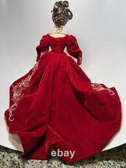 Faberge Imperial Splendor Porcelaine Barbie Doll 27028 Édition Limitée