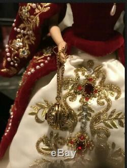 Fabergé Imperial Splendor Porcelaine Poupée Barbie 2000 Limited Edition 01528