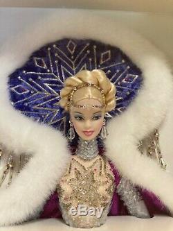 Fantaisie Déesse De Bob Mackie Barbie Arctic Nrfb # 50840 Limitée Ed