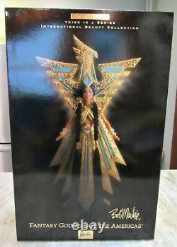 Fantasy Goddess Des Amériques Barbie Bob Mackie Edition Limitée Nib 2000