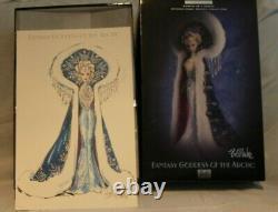 Fantasy Goddess Of The Arctic Bm Limited Edition 4ème De La Série 2001 Mattel 50840
