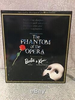 Fantôme De L'opéra Poupées Barbie Et Ken 1998 Fao Schwarz Limited Ed 20377 Nrfb
