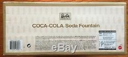 Fontaine À Soda Barbie Coca Cola Mnrfb. Objet De Collection En Édition Limitée