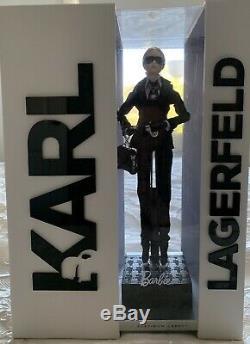 Karl Lagerfeld Poupée Barbie Étiquette Platinum Limited Edition