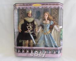 Ken & Barbie Comme King Arthur Guinevere Limited Edition 23880 Ensemble Pour Toujours Nouveau