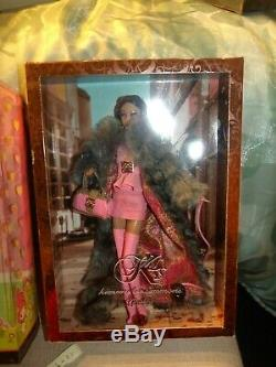 Kimora Lee Barbie 2007 Or Étiquette Limitée Ed