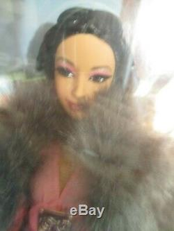 Kimora Lee Barbie Nib 2007 Label Gold Limited Ed. 12500 Dans Le Monde Entier. Menthe