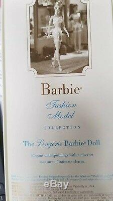 La Lingerie Poupée Barbie Véritable Silkstone Body Limited Édition