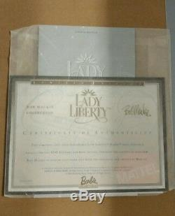 Lady Liberty Barbie 2000 Édition Limitée Bob Mackie Mib Nrfb