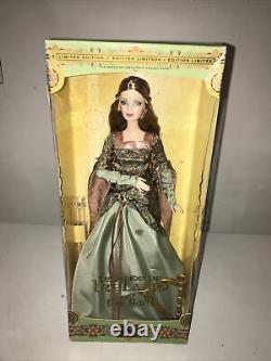 Legends Of Ireland The Bard Limited Edition Nrfb 2003 Stunning Doll & Gown