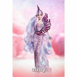Licorne Barbie Doll Déesse Mythical Muse Gold Label Edition Limitée #fjh82 Nrfb