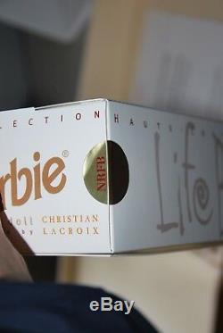 Life Ball Barbie, Christian Lacroix, Édition Limitée 500 Poupées, Nrfb