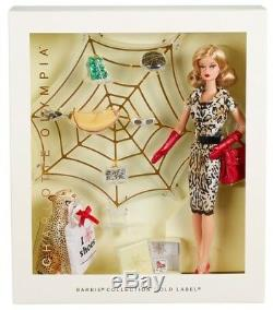 Limited Edition Charlotte Olympia Barbie Toujours En Usine De Tissus