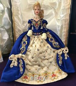 Limited Edition Fabergé Imperial Elegance Barbie Cristaux Swarovski Withshipper