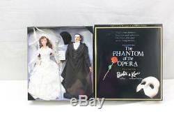 Limited Edition Le Fantôme De L'opéra Barbie Et Ken Doll Set Nouveau