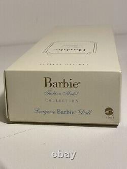 Lingerie Blonde Barbie 2002 Silkstone Mannequin Collection Limitée Ed