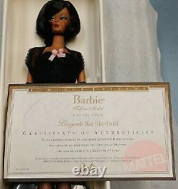 Lingerie Silkstone Barbie 2002 #5 Fashion Model Collection Limited Edition 56120