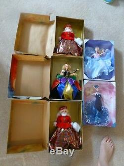 Lot De 76 Poupées Barbie Edition Collector Edition Limitée Rose / Silver Label