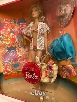 Malibu Barbie By- Trina Turk Édition Limitée Étiquette D'or Nrfb