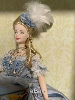 Marie-antoinette Barbie Limited Edition Nrfb Coa # 53991 De Nice