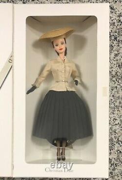 Mattel 1996 Limited Edition Christian Dior Paris Barbie, Vintage 16013, Nouveau