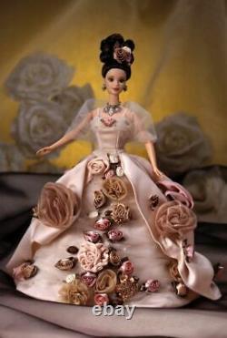 Mattel Antique Rose Barbie, La Première Poupée Dans L'édition Limitée Exclusive
