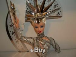 Mattel Barbie Bob Mackie Lady Liberty 2000 Limited Edition Non Utilisée