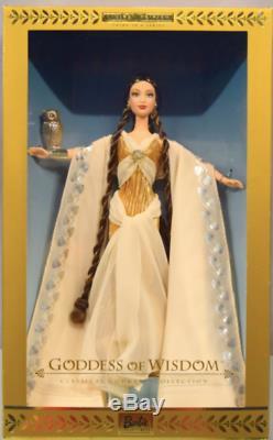 Mattel Barbie Collection Classique Déesse Déesse De La Sagesse Edition Limitée