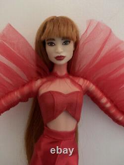 Mattel Barbie Convention Japon 2020 Limited Edition Label Platinum Preloved