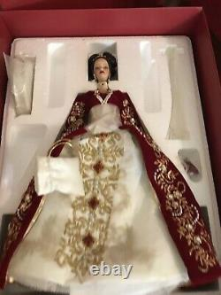 Mattel Barbie Doll 2000 Édition Limitée Faberge Imperial Splendor Porcelaine