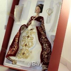 Mattel Barbie Doll 2000 Limited Edition Fabergé Imperial Splendor Porcelaine