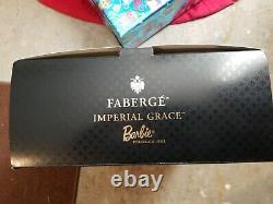 Mattel Barbie Doll 2001 Edition Limitée Faberge Imperial Grace Porcelaine Nm