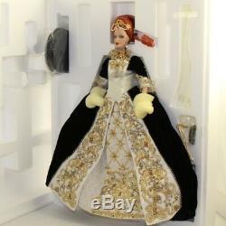 Mattel Barbie Doll 2001 Imperial Limited Edition Fabergé Grâce Porcelaine Nm