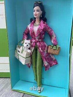 Mattel Barbie Kate Spade À New York Doll 2003 Limited Edition B2513 Nrfb Nib