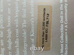 Mattel Barbie Kimora Lee Simmons Doll 2008 Gold Label Limited À 12500 Fsl712