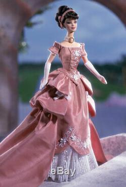 Mattel Barbie Limited Edition Collection Wedgwood Robert Best Robe Rose 2001