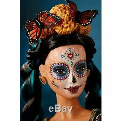 Mattel Barbie Limited Edition Dia De Los Muertos Day Of Ships Morte Doll Maintenant