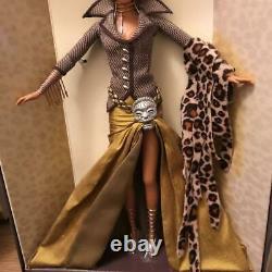 Mattel Barbie Tatu Trésors De L'afrique Édition Limitée 2003 Byron Lars B2018