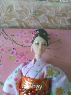 Mattel Bonne Année Barbie Kimono Doll 2007 Gold Label Japan Limited L9606