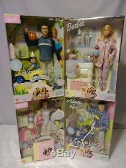 Mattel Happy Family & Midge Baby Doll Set / Limited Editiion