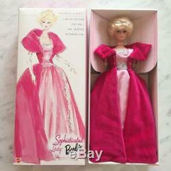 Mattel Inc. Sophisticated Lady Barbie 1963 Poupée Barbie Limitée Figure F / S