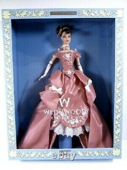 Mattel Limited Edition 2000 Wedgewood Barbie Collectibles Flambant Neuf Dans La Boîte