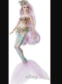 Mattel Or Étiquette Limitée Barbie Sirène Enchanteresse 2019 Nouvelle Barbie Collector