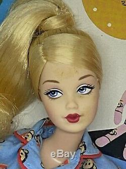 Mattel Paul Frank Barbie Doll Pyjama Bleu Limited Edition B8954 Nrfb