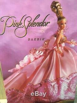 Mattel Pink Splendor Barbie 1996 Édition Limitée Nib