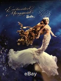 Modèle Poupée Barbie 2002 Édition Limitée Sirène Enchantée Mattel Rare