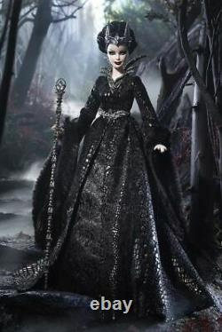 New Queen Of The Dark Forest Barbie Doll Gold Label In Shipper Limited Ed Cjf32