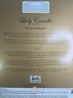 Nib 2002 Limited Edition Barbie Doll Lady Camille Portrait Collection B1235