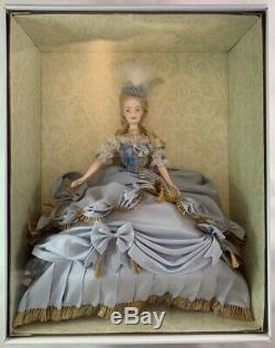 Nib 2003 Marie-antoinette Poupée Barbie De Luxe Limitée Femme De Droits